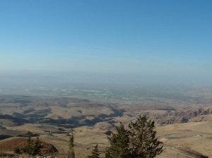 View from Mt Nebo over the Jordan Valley